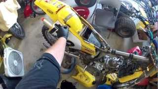 Suzuki RM250 Top Removal - Part 1