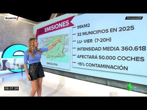 Todo lo que tienes que saber sobre el funcionamiento de la Zona de Bajas Emisiones de Barcelona