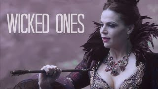 Multivilains || Wicked Ones (Once Upon A Time edition)