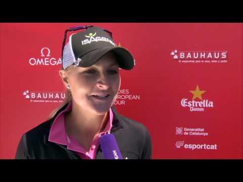 Anna Nordqvist Interview Day 3 | Estrella Damm Mediterranean Ladies Open