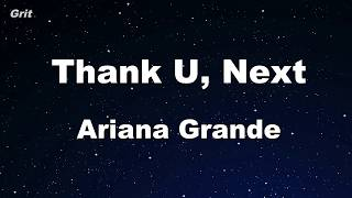 Thank U, Next - Ariana Grande Karaoke 【No Guide Melody】 Instrumental