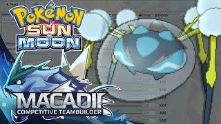 Araquanid  - (Pokémon) - Araquanid Sun and Moon Team Builder! - Pokemon Showdown OU Team Building w. macadii (Smogon OU)
