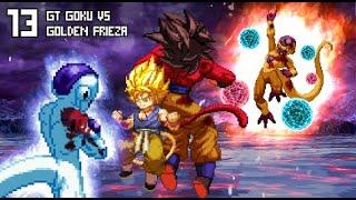 [What-If] GT Goku (Super Saiyan 4) VS Golden Frieza.