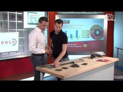 WERKZEUG TV #48 Trenn- und Schruppscheiben mit Keramik für hohe Standzeiten - Dronco