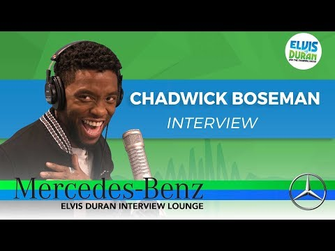 How Chadwick Boseman Got His Role in 'Black Panther' | Elvis Duran Show