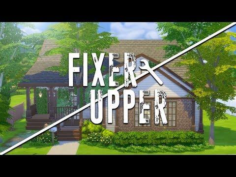 RUNDOWN RANCH // The Sims 4: Fixer Upper - Home Renovation