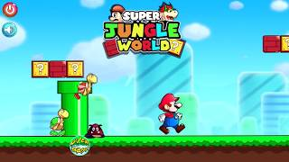 Super Jungle Adventures- Gameplay, INSTALL, Super Mario iPhone Gameplay FROM APP STORE (FREE)