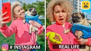 Instagram vs Real Life! Phone Photo Hacks