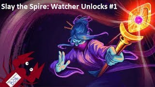 "Slay the Spire - Card Unlocks for ""The Watcher,"" the New Fourth Character - 01"