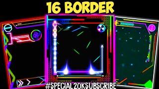 💥Bagi bagi 16 Mentahan Bingkai atau Border Spektrum Keren | untuk Quotes no text || KINEMASTER #19