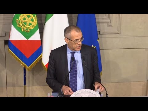 OECD Chief: Cottarelli 'safe hands' for Italy