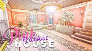 Bloxburg: Pink Gothic House Tour!