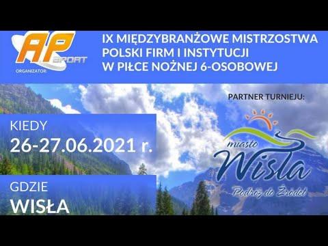 WIDEO NA ŻYWO: IX Międzybranżowe Mistrzostwa Polski Firm i Instytucji