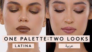 ONE PALETTE: TWO LOOKS   FENTY BEAUTY