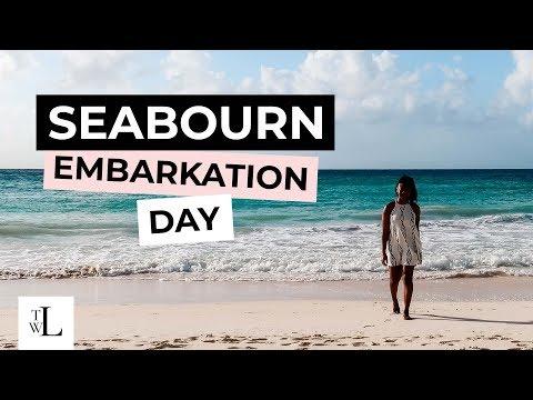 Sandals Barbados Resort & Seabourn Cruise Embarkation Day