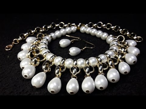 bedefb76c334 Elegant and Easy Pearls Necklace ... Class   46 !!! - Free video search  site - Findclip