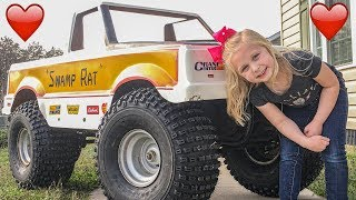Mini Monster Truck Go Kart (Daddy Daughter Project) - Hot Rod Hoarders Ep.8