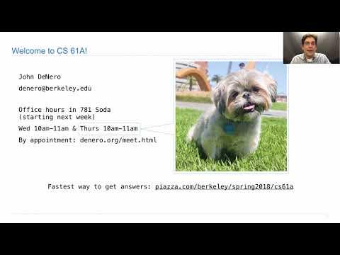 CS 61A Spring 2014 Final Walkthrough - смотреть онлайн на Hah Life