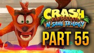 Crash Bandicoot N. Sane Trilogy - Part 55 (100% Crash 3 Warped Platinum Trophy)