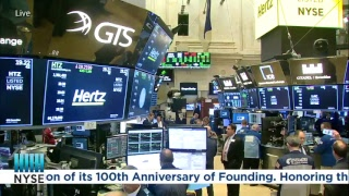 Hertz (NYSE:HTZ) celebrates 100 years since their founding by ringing the NYSE Closing Bell
