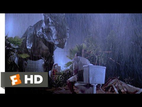 Jurassic Park (1993) - Tyrannosaurus Rex Scene (4/10) | Movieclips