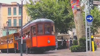 preview picture of video 'Mallorca:  Soller - Unesco Weltkulturerbe in der Sierra Tramuntana'