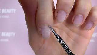 Nagelhaut ohne Verletzungen schneiden