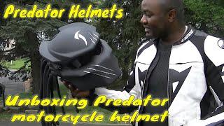 #predatorhelmet upgrade UNBOXING predator wolf helmet http://rezzercustom.com/ use promo code :zxp