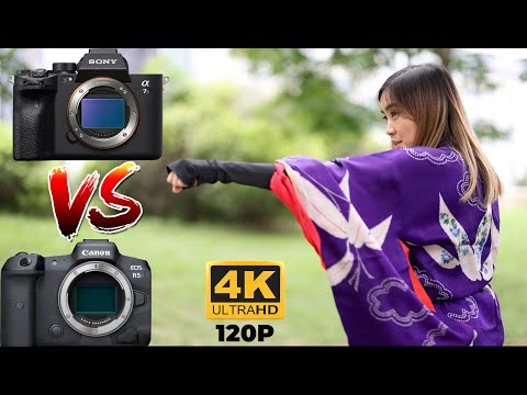 Sony A7S III vs Canon R5 - 4k 120 Video