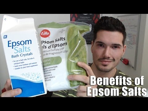 Video Health Benefits of Epsom Salt Baths - Heal the Body and Mind