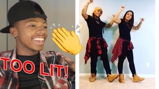 Best Domo and Crissy Musical.ly Compilation Reaction