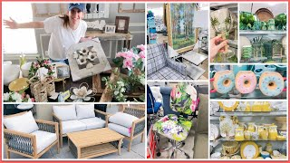 SHOP WITH ME @ HOME GOODS + MASSIVE Farmhouse/French Country Cottage Decor Haul