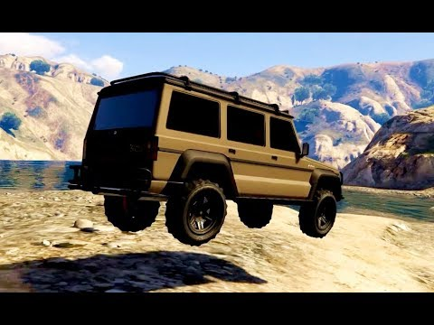 Toughest Dubsta Offroad Challenge – GTA-5 MOVIE #2.