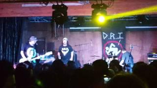 "D.R.I. ""Acid Rain"" @ Union Club 10/26/16"