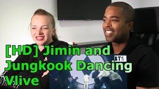 [HD] Jimin and Jungkook Dancing Vlive|BTS PROM FESTA (REACTION 🎵