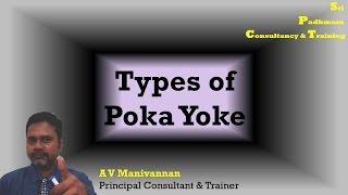 Types of Poka Yoke