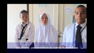 HME ON NEWS - LIVE INTERVIEW MABA ELEKTRO POLIBATAM 2016