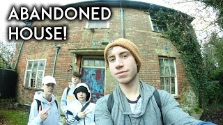 CREEPY ABANDONED HOUSE EXPLORATION! (FOUND AXE AND BULLETS)