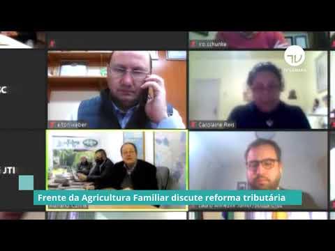 Frente discute reforma tributária e seus reflexos no cultivo do tabaco - 16/09/20