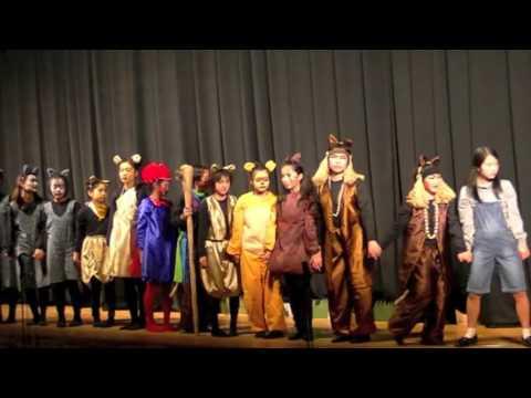長浜小学校合唱団 第1回定期演奏会 ミュージカル「ライオンキング」エンディング
