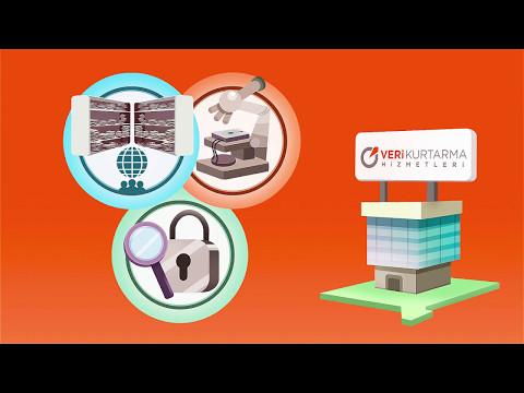 Veri Kurtarma Hizmetleri Ltd Şti Tanıtım - 2017