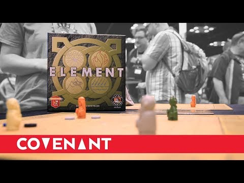 Element Board Game Demo w/ Mike Richie | Rather Dashing Games