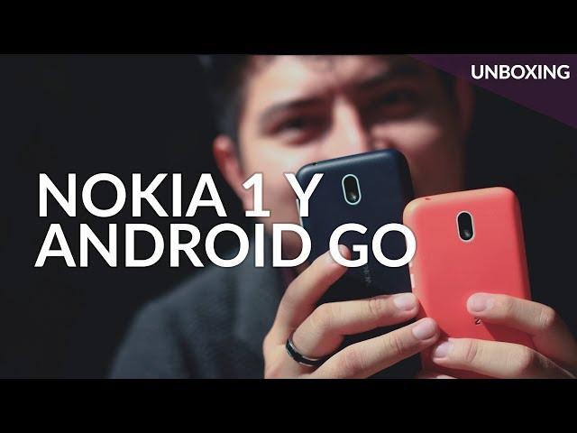 Nokia 1, UNBOXING: el primero con Android Go en México