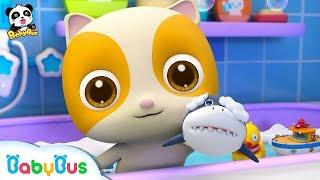Mèo con thích đi tắm | Baby bath song | Nhạc thiếu nhi vui nhộn | BabyBus