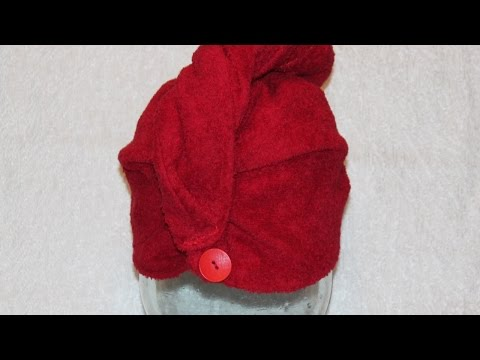 Sew a Turban Hair Towel - DIY Beauty - Guidecentral