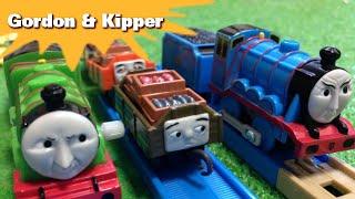 """トーマス プラレール ガチャガチャ ゴードンとヘンリーとさかな Tomy Plarail Thomas """"Gordon & Kipper"""""""