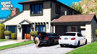 РЕАЛЬНАЯ ЖИЗНЬ В GTA 5 - КУПИЛ НОВЫЙ ДОМ ЗА 120.000$! ПЕРЕГОНЯЮ МАШИНЫ В ГАРАЖ! 🌊ВОТЕР