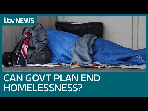 Housing minister James Brokenshire defends plan to eradicate homelessness by 2027 | ITV News
