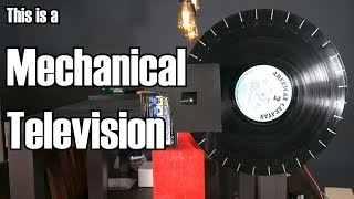 Mechanical Television: Incredibly simple, yet entirely bonkers