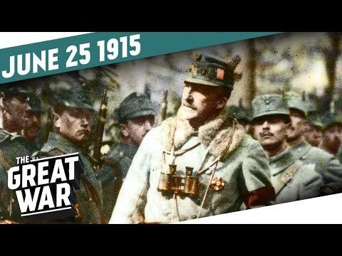 Rakousko-uherské impérium vrací úder